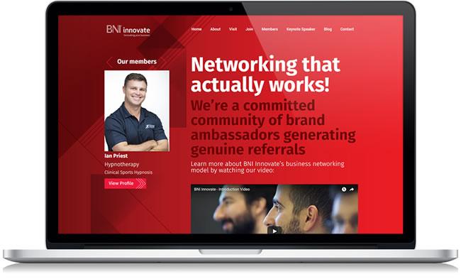 bni innovate website development